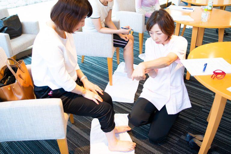 image-「足の悩みにさようなら!美脚も美姿勢もかなえる快足セミナー」 | フットケアサロン 東京のサロンドピュアボディ